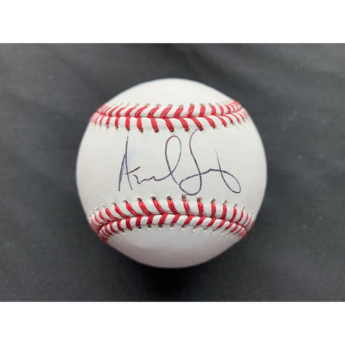 Photo of Giants End of Season Auction: Andrew Suarez Autographed Baseball