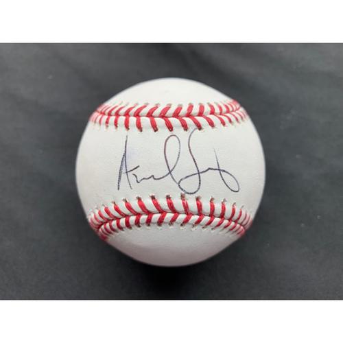 Photo of Giants End of Season Auction: Andrew Suarez Autographed Baseball