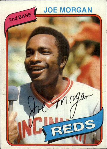 Photo of 1980 Topps #650 Joe Morgan