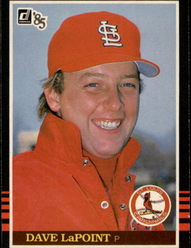 Photo of 1985 Donruss #138 Dave LaPoint
