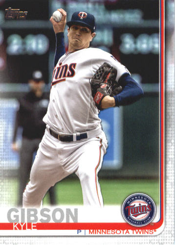 Photo of 2019 Topps #597 Kyle Gibson