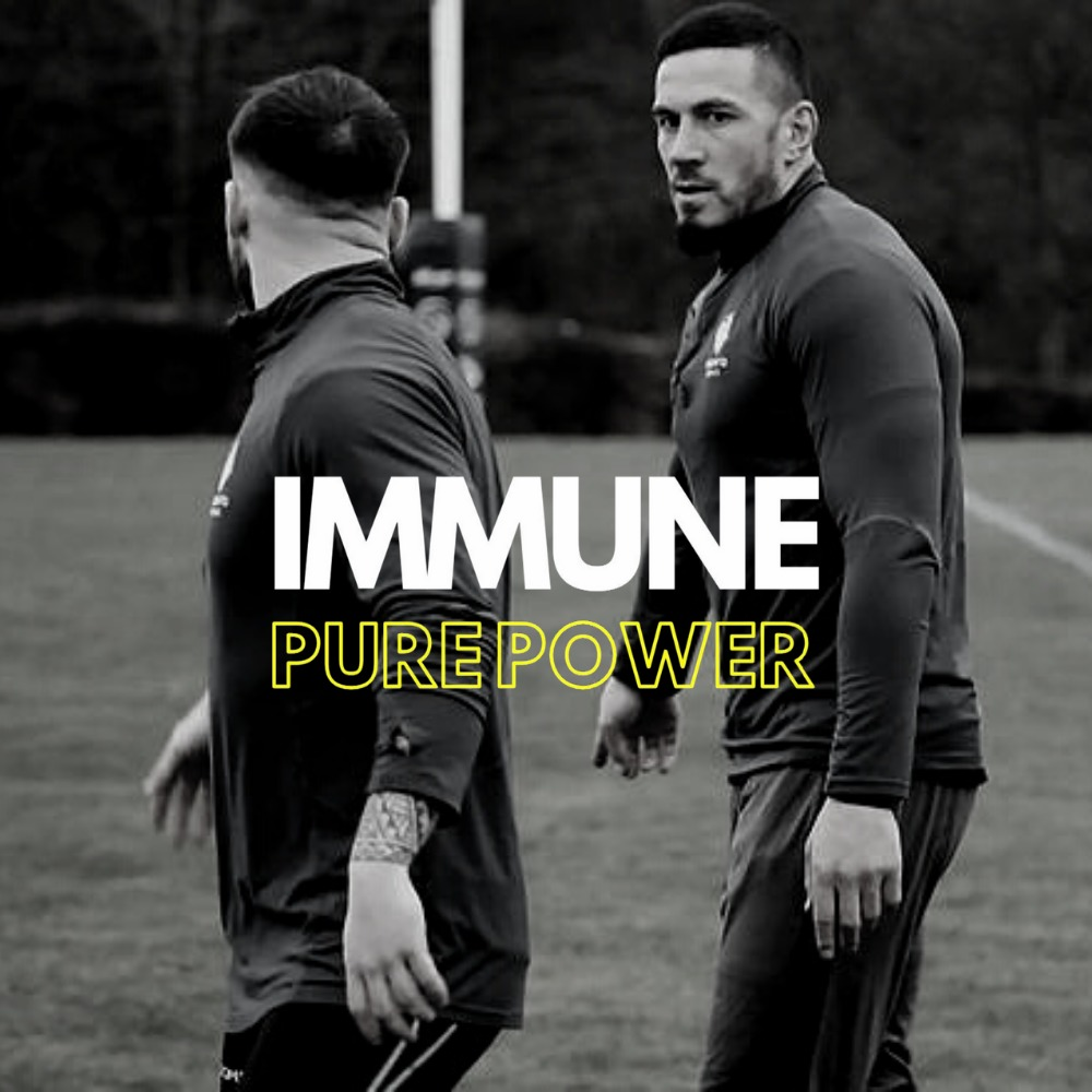 Immune Pure Power Experience - Watch the Wolfpack train at their UK training base before being presented with a Year's supply (52 units) of Immune Energy Drinks by the Wolfpack.