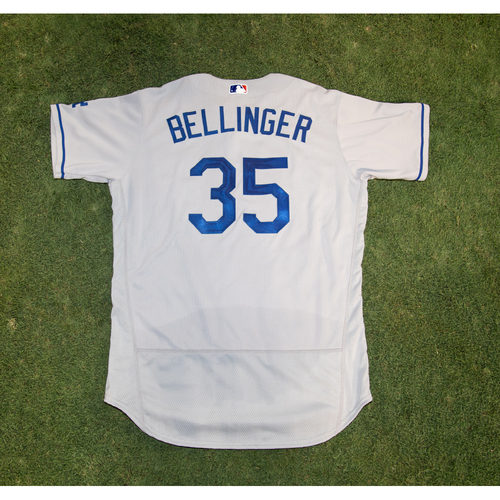 Photo of PRESALE - Cody Bellinger Game-Used or Team-Issued Jersey from 8/14/20 Game vs. LAA