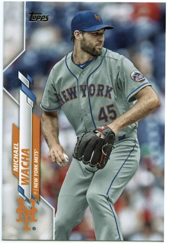 Photo of 2020 Topps #534 Michael Wacha