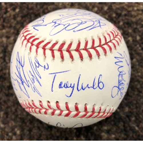 Photo of 2020 D-backs Team Signed Rawlings Official Major League Baseball - NOT MLB Authenticated - D-backs Certificate of Authenticity Included