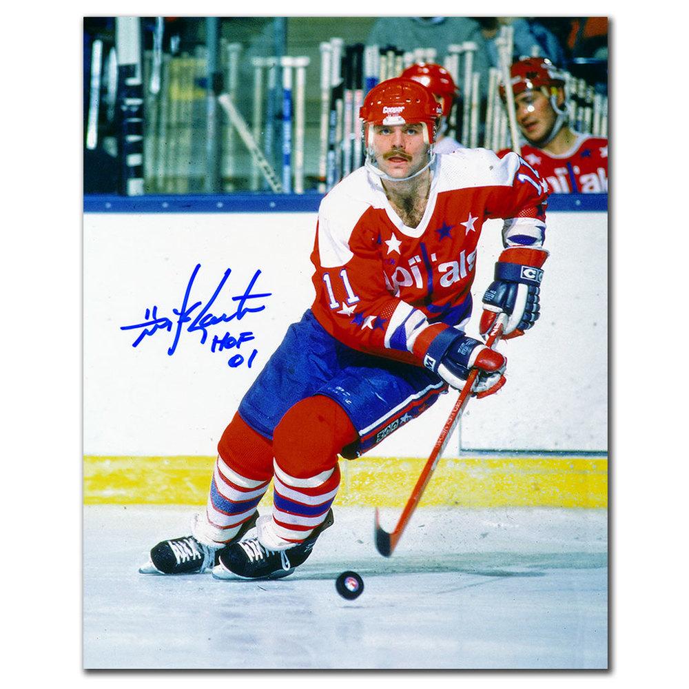 Mike Gartner Washington Capitals HOF Autographed 8x10