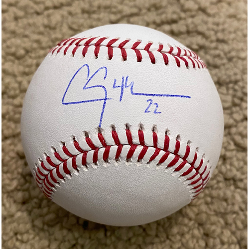 Photo of Clayton Kershaw Authentic Autographed Baseball