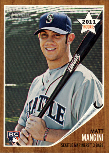 Photo of 2011 Topps Heritage #321 Matt Mangini RC