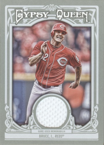 Photo of 2013 Topps Gypsy Queen Relics #JB Jay Bruce