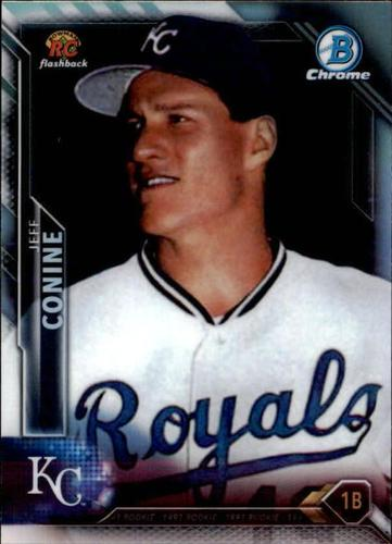Photo of 2016 Bowman Chrome Rookie Recollections #RRJC Jeff Conine