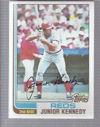 Photo of 1982 Topps #723 Junior Kennedy