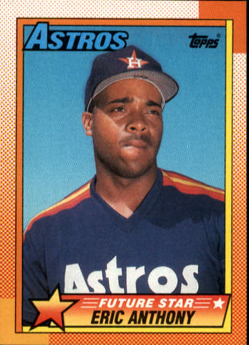 Photo of 1990 Topps #608 Eric Anthony RC