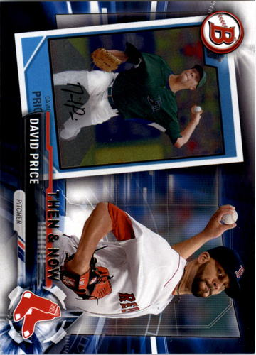 Photo of 2017 Topps Bowman Then and Now #BOWMAN14 David Price