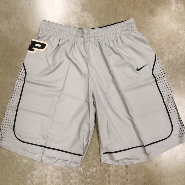 Photo of Grey Nike Men's Basketball Official Game Shorts // Size 38 +4 length