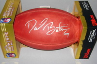 NFL - PACKERS DAVID BAKHTIARI SIGNED AUTHENTIC FOOTBALL