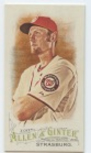 Photo of 2016 Topps Allen and Ginter Mini #282 Stephen Strasburg