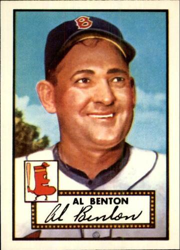 Photo of 1983 Topps 1952 Reprint #374 John Benton