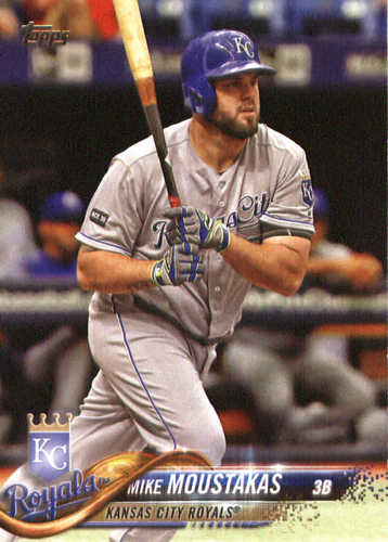 Photo of 2018 Topps #173 Mike Moustakas