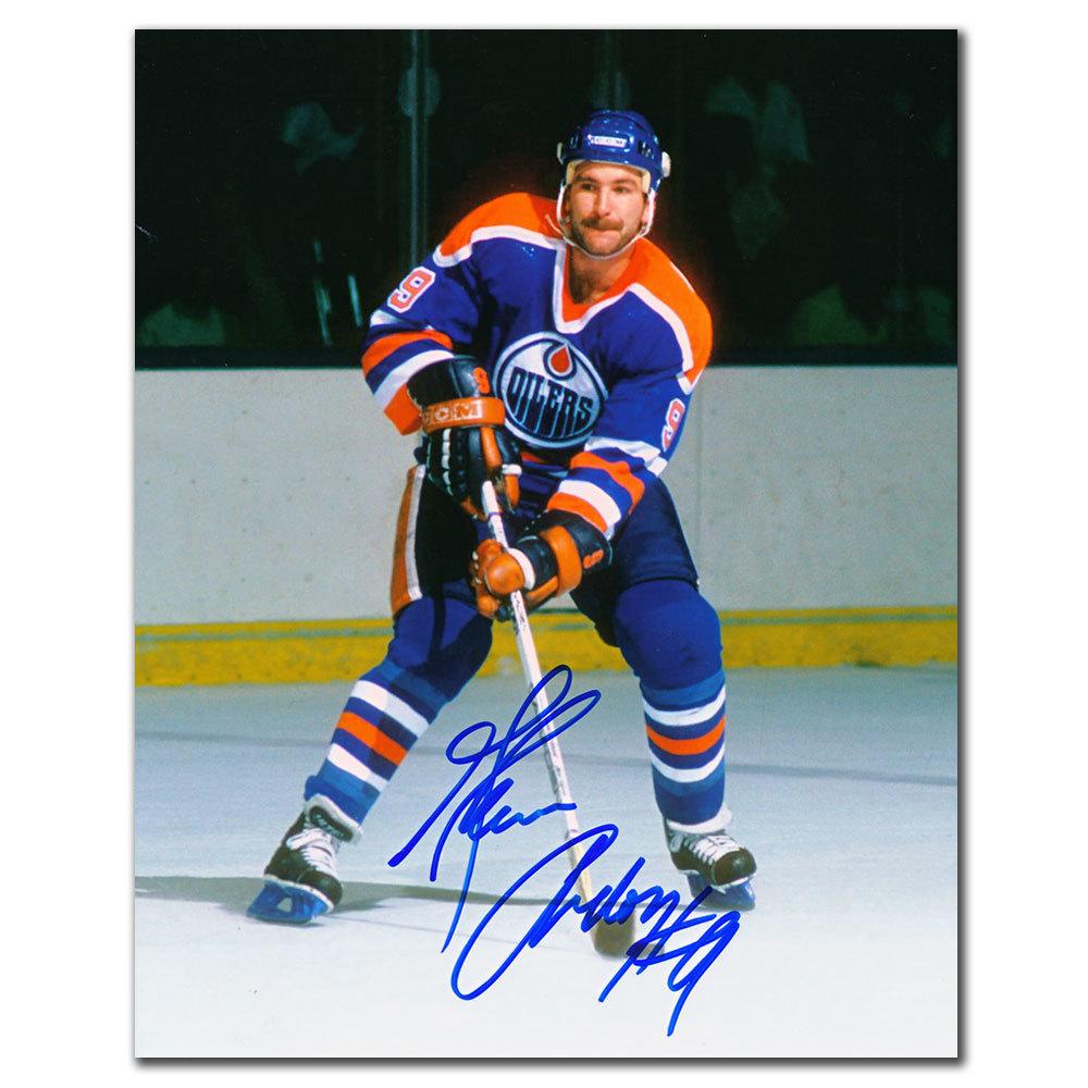 Glenn Anderson Edmonton Oilers PLAYMAKER Autographed 8x10