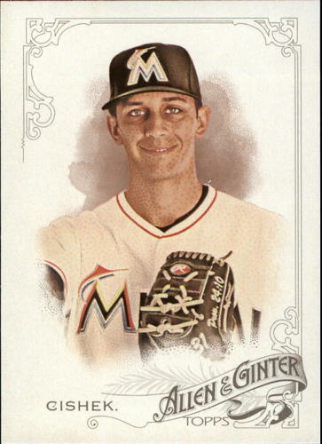 Photo of 2015 Topps Allen and Ginter #315 Steve Cishek