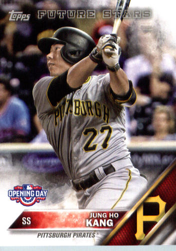 Photo of 2016 Topps Opening Day #OD80 Jung Ho Kang