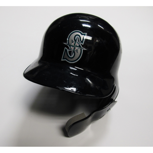 Photo of Seattle Mariners Mitch Haniger 2018 Team Issued Batting Helmet