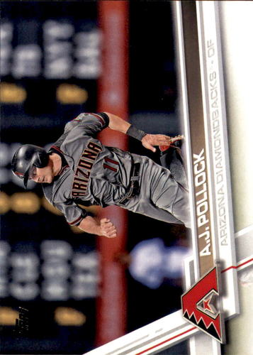 Photo of 2017 Topps #617 A.J. Pollock