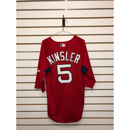 Photo of Ian Kinsler Team-Issued Home Batting Practice Jersey