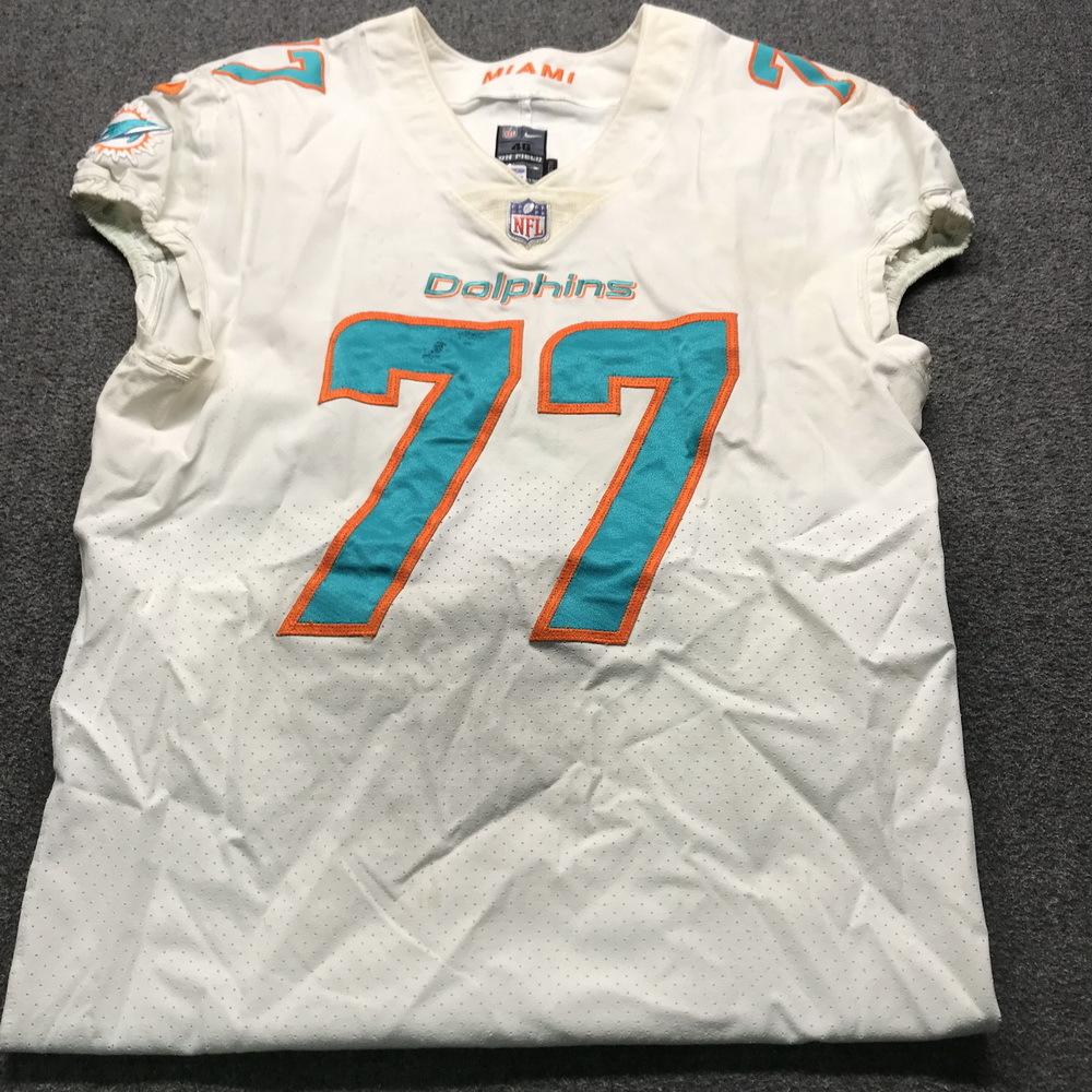 the best attitude e4fbd 98a31 NFL Auction | Crucial Catch - Dolphins Jesse Davis Signed ...