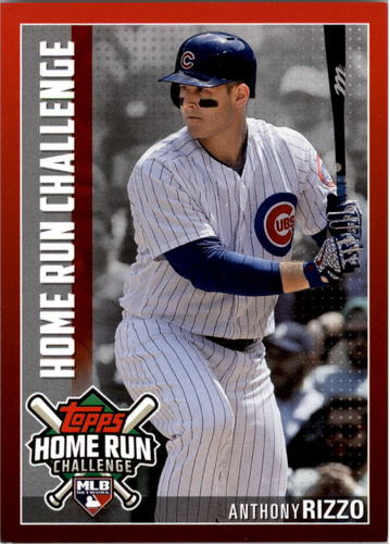 Photo of 2019 Topps Home Run Challenge #HRC20 Anthony Rizzo