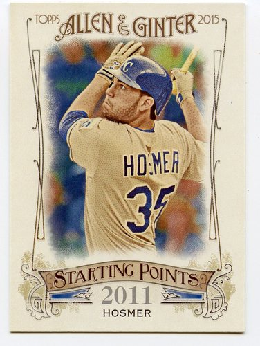 Photo of 2015 Topps Allen and Ginter Starting Points #SP35 Eric Hosmer