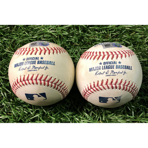 Game Used Baseball: Package: Tampa Bay Rays v Los Angeles Dodgers - May 22, 2019