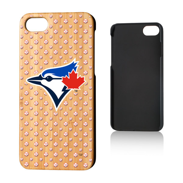Toronto Blue Jays Bamboo Wood Baller iPhone 7/8 Case by Keyscaper
