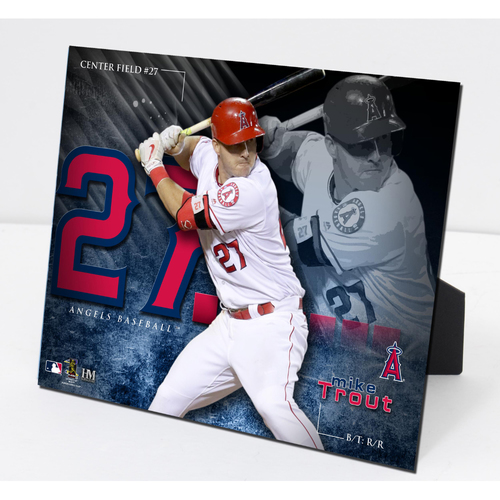 Photo of Mike Trout PleXart