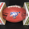 NFL - Giants Daniel Jones Signed Authentic Football with NFL 100 Logo