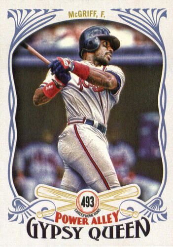 Photo of 2016 Topps Gypsy Queen Power Alley #PA15 Fred McGriff