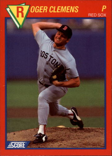 Photo of 1989 Score Hottest 100 Stars #90 Roger Clemens