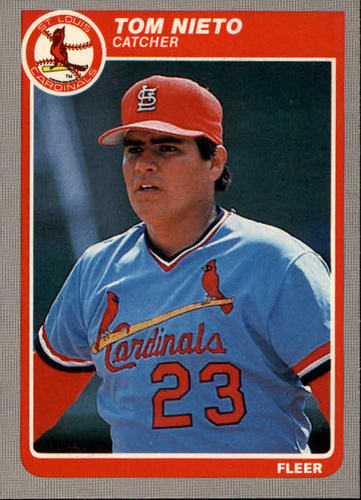 Photo of 1985 Fleer #235 Tom Nieto