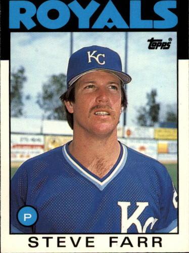 Photo of 1986 Topps Traded #35T Steve Farr