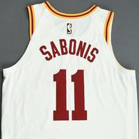 Domantas Sabonis - Indiana Pacers - Game-Worn Classic Edition Jersey - 1954-55 Hickory Road (1986 Hoosiers Movie)  - Scored Team-High 25 Points - 2019-20 Season