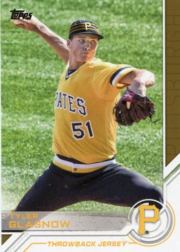 Photo of 2017 Topps Salute #S195 Tyler Glasnow