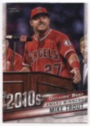 Photo of 2020 Topps Decades' Best #DB93 Mike Trout