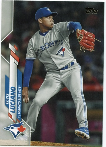 Photo of 2020 Topps #536 Elvis Luciano