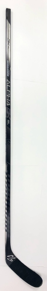 #73 Adam Erne Game Used Stick - Autographed - Detroit Red Wings