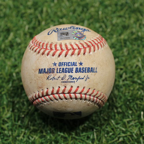 Photo of Game-Used Baseball: Victor Reyes 185th Career Hit (9/24/20 DET @ KC)