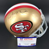 NFL - 49ers Joe Montana Signed Throwback Helmet