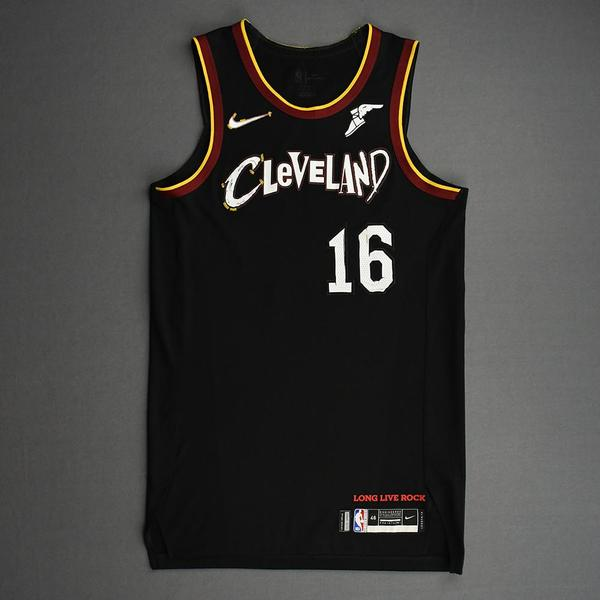 Image of Cedi Osman - Cleveland Cavaliers - Game-Worn City Edition Jersey - Dressed, Did Not Play (DNP) - 2020-21 NBA Season
