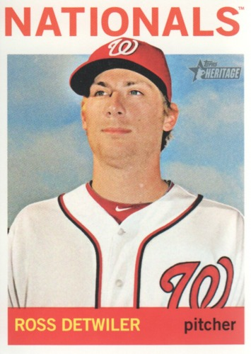Photo of 2013 Topps Heritage #56A Ross Detwiler