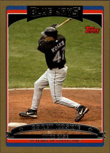 Photo of 2006 Topps Gold #227 Corey Koskie