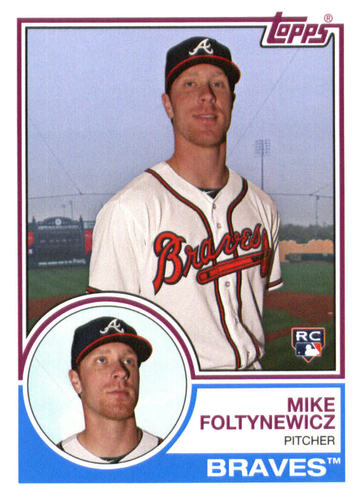 Photo of 2015 Topps Archives #296 Mike Foltynewicz RC